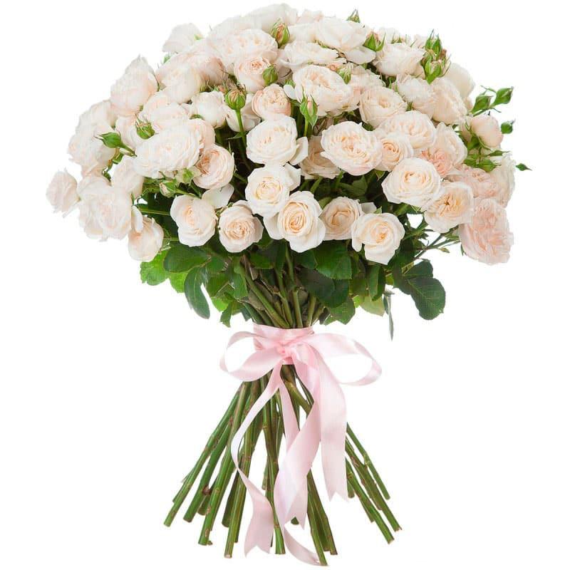 Букет из кустовых цветов, букетов для